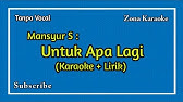 Tanda Merah Dangdut Karaoke Youtube