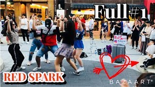 [K-POP in Public] [Full#1] 180907 Red Spark (레드스파크) cover dance 홍대 HD