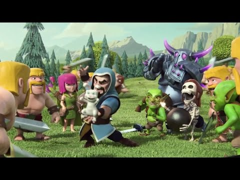 Clash Of Clans Movie -  Animation video |Funny|