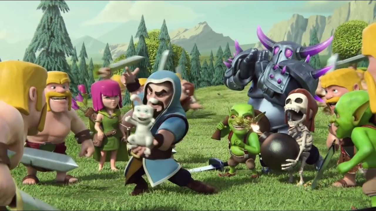 Clash of clans movie animation video funny youtube publicscrutiny Image collections
