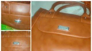 Al Jazeera Women brown shoulder bag Ladies handbag under 500 from Flipkart Unboxing