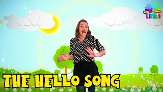Hello Song for Children | Morning Stretch Song for Kids | English Greeting Song