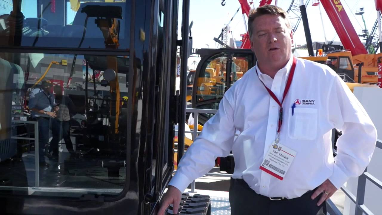 Sany launches SY35U compact excavator at ConExpo