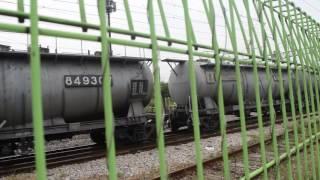 철도박물관에서 촬영한 EL8554+시멘트 화차