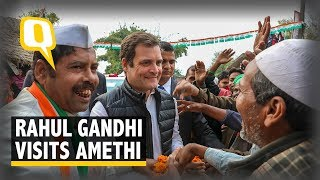 Rahul Gandhi Addresses a Rally in his Constituency Amethi