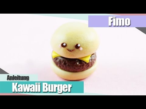 ifimo fridayi kawaii burger fimo anleitung polymer clay tutorial i anielas fimo youtube. Black Bedroom Furniture Sets. Home Design Ideas