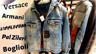 Где одеваются богатые Цены на европейский люкс в Стамбуле Мужская одежда сток в Зорлу