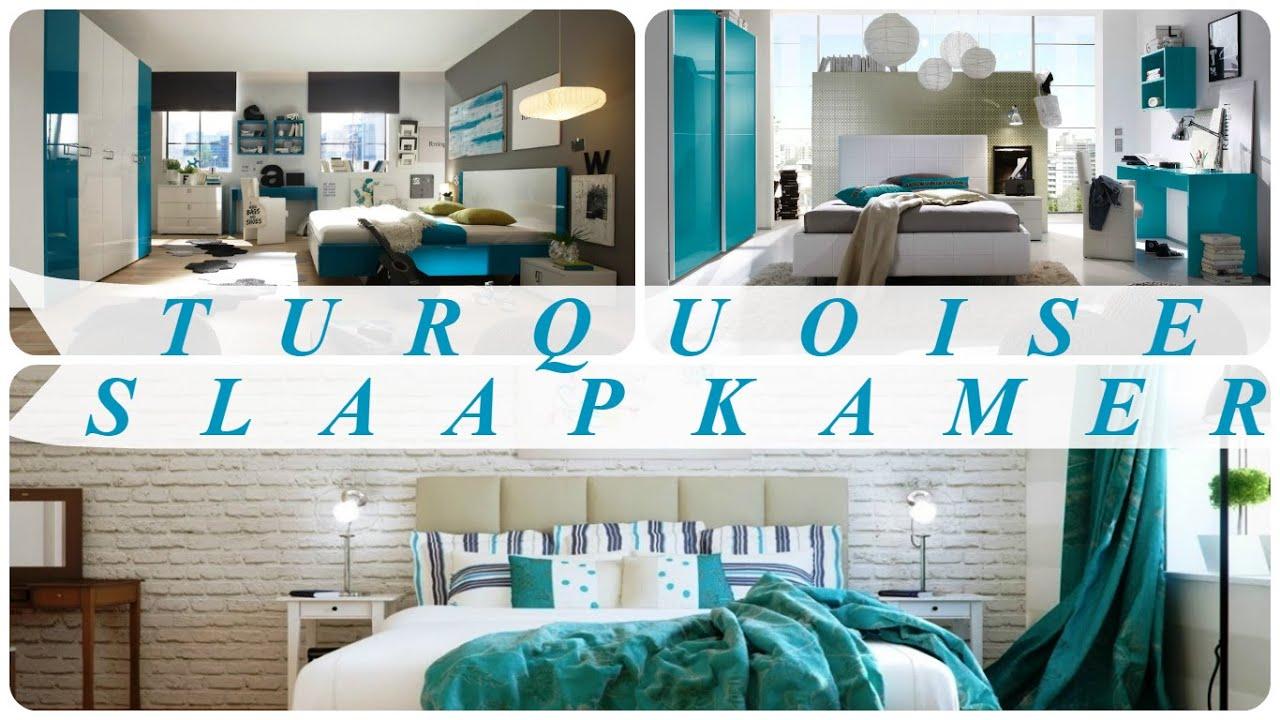 Slaapkamer Turquoise Cool Pvblik Turquoise Decor Slaapkamer | Eigen ...