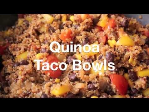 Super Recipe - Quinoa Taco Bowls