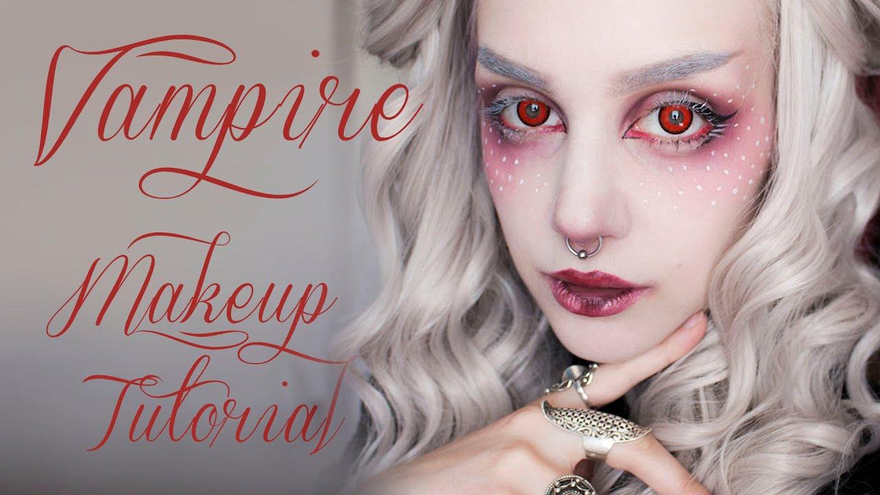 vampire makeup tutorial manic moth youtube