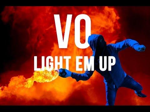 Light 'Em Up (Lyrics Video) - Vo Williams ft. Robin Loxley