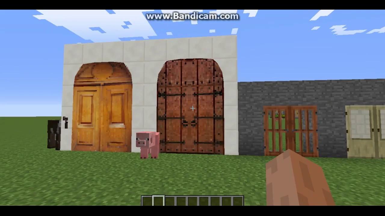 мод на двери в майнкрафт 1.7.10 #7