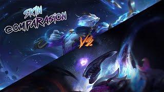 Cosmic Varus (1350 RP) vs Dark Star Varus (1350 RP)/League of legends PBE