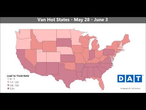 Spring freight season extended? March through August on the dry van spot market