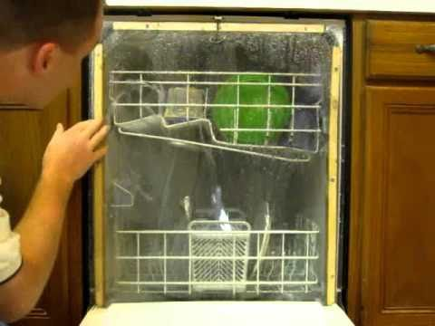 how to clean inside of dishwasher