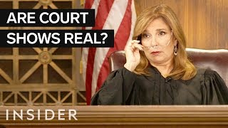 The Truth Behind TV Court Shows