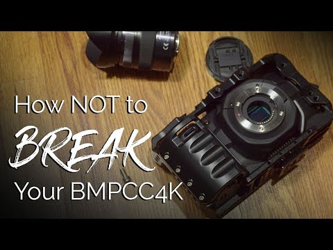 Do You Need A Cage For The Blackmagic Pocket 4K Camera?