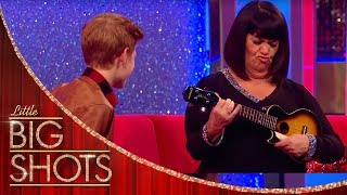 Toby Teaches Dawn to Play the Ukulele | Little Big Shots