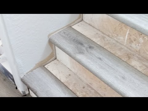 Luxury Vinyl Plank Stair Nose Diy You, How To Install Vinyl Flooring On Stairs With Nosing