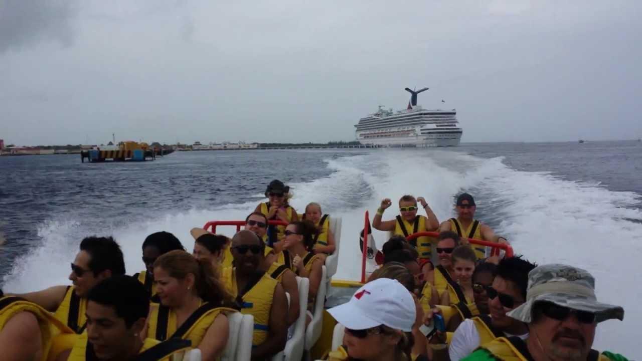Twister Boat Ride To Isla Pasion Excursion Cozumel