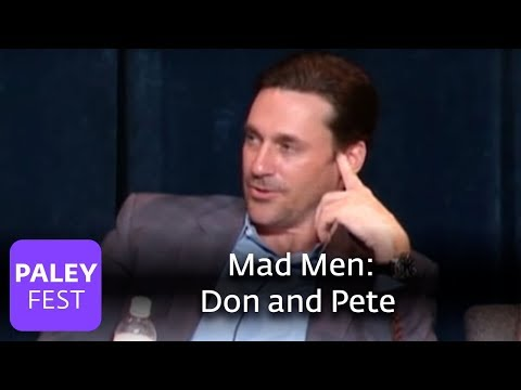 Mad Men - Hamm on Don and Pete's Relationship (Paley Center)
