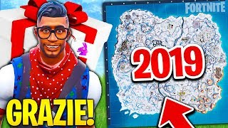 FORTNITE gave me the NEW SKIN! SEE THE MAP of 2019!! Fortnite ita