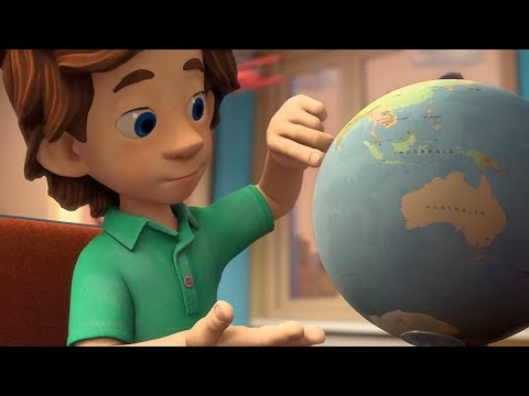 The Fixies | Planning A Trip Around The World | Videos For Kids | Cartoons For Kids