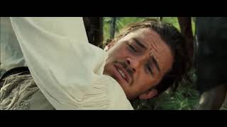 Pirates Of The Caribbean: Dead Man's Chest Hindi : Jack Sparrow And Vill Tuner Forest Scenes  (03)