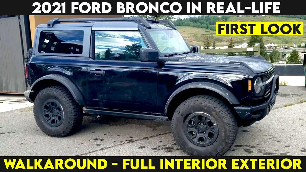 2021 Ford Bronco Sport, 2-Door & 4-Door in Real-Life ...
