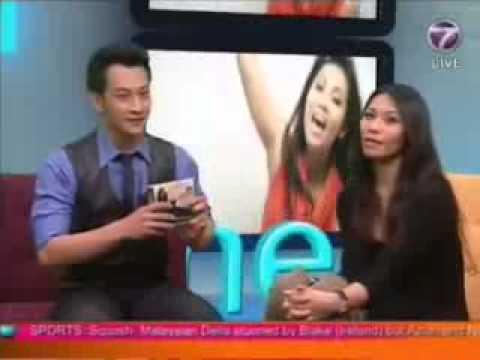 Anggun On The Breakfast Show Malaysia