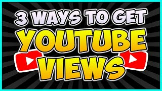 3 Reasons You're Not Getting Views...