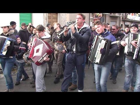 TARANTELLA MONTEMARANESE - Carnevale di Montemarano - SUONI e BALLI - MONTEMARANO (Avellino-Italy) -