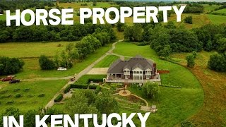 3 creeks on Horse Property in Kentucky with Organic Blueberry farm attached