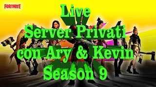 "🔴 Live fortnite: Server Privati ""COINS in LIVE ""con Ary & Kevin tag: APK_ARYHUNTER"