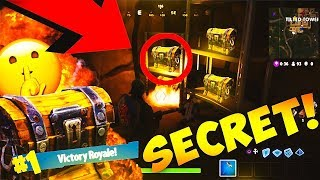 (NEW) SECRET LOOT TUNNEL LOCATION IN FORTNITE! WIN EVERY GAME! | FORTNITE BATTLE ROYAL