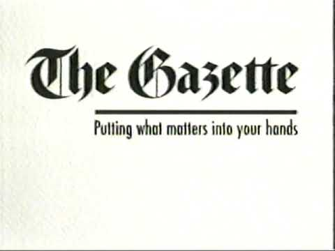 Retro Montreal ad from 1995: The Montreal Gazette