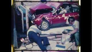 Renault Fuego | 1982 | Frontal Crash Test | NHTSA | CrashNet1