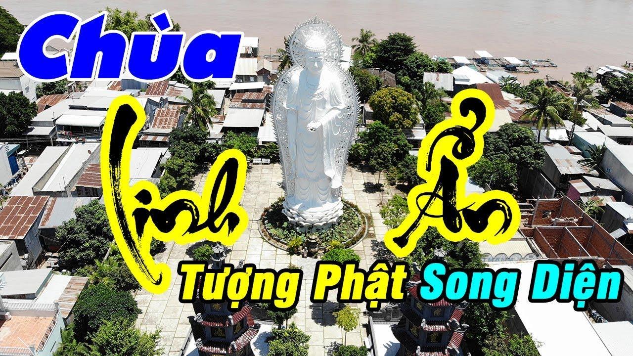 Tham quan Chùa Linh Ẩn - Nét đẹp Tượng Phật Song Diện | Du Lịch Ăn Uống An Giang #04