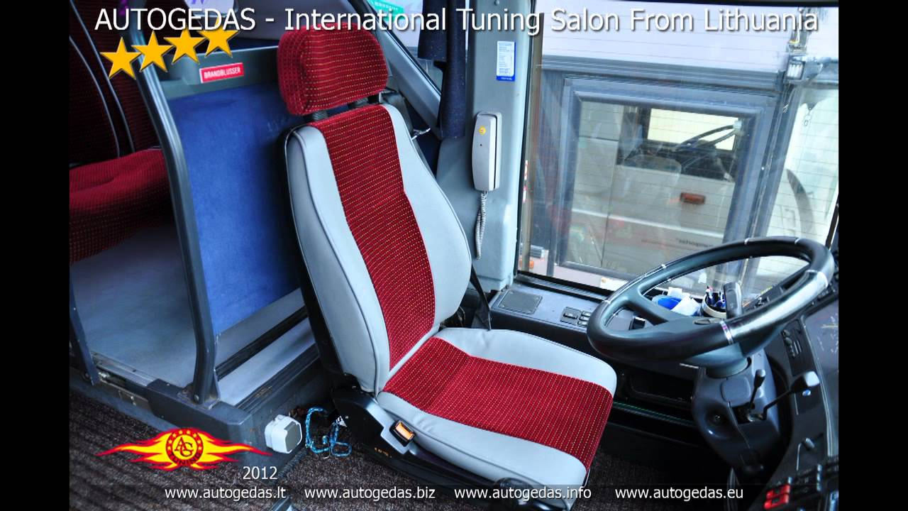 Bus mercedes benz interior repair youtube for Mercedes benz upholstery repair