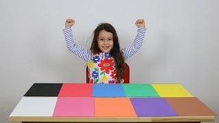 Farben lernen / erklären für Kinder auf Deutsch