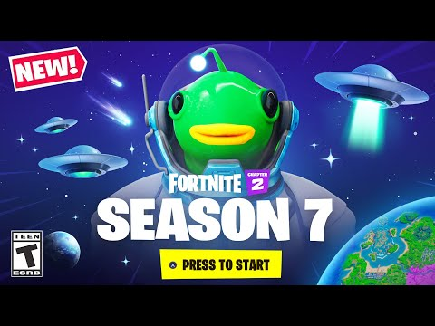 *NEW* FIRST LOOK at Fortnite Chapter 2 SEASON 7!