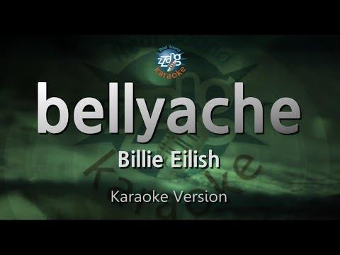Billie Eilish-bellyache (Melody) (Karaoke Version) [ZZang KARAOKE]