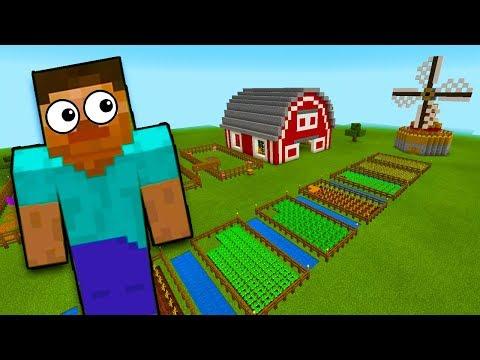 СТРОИМ ФЕРМУ в Minecraft