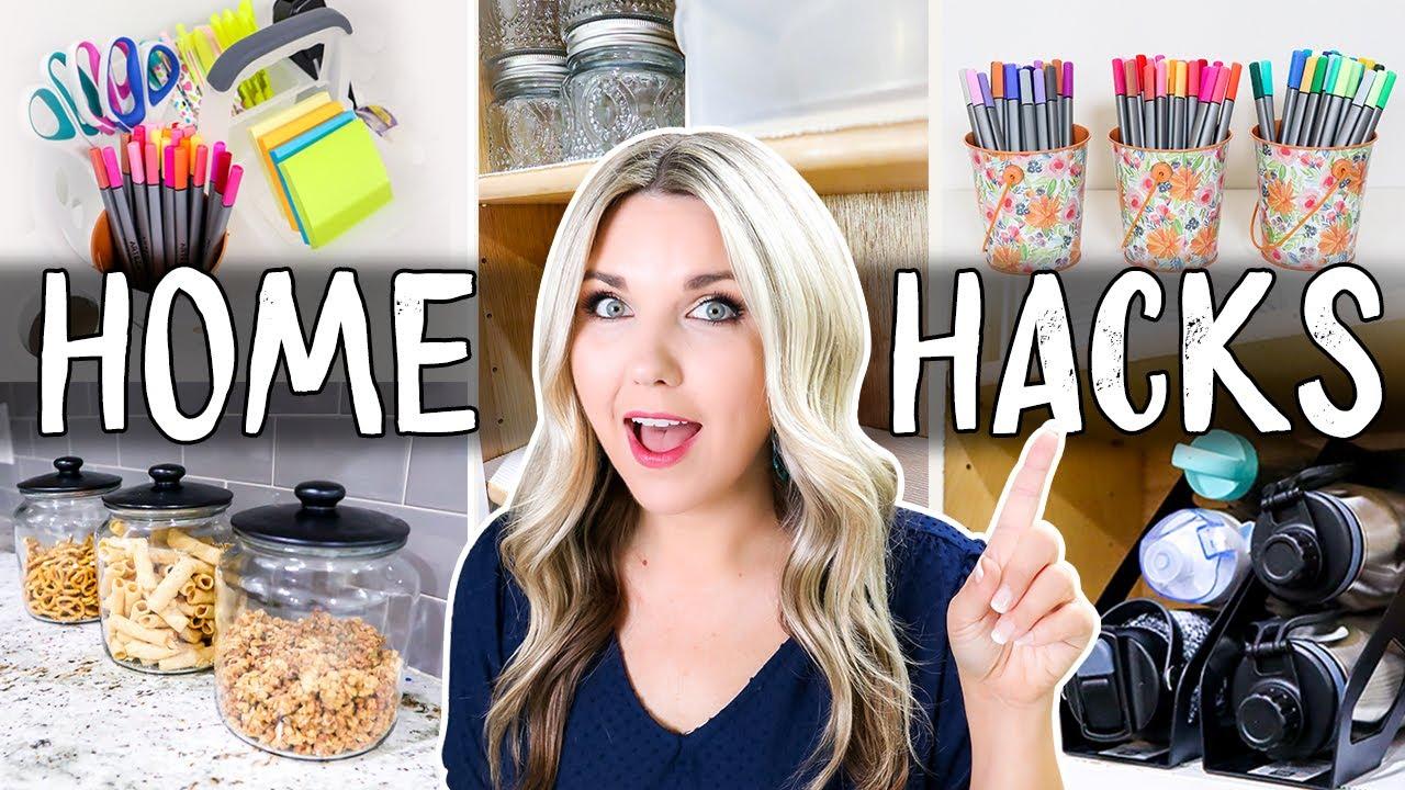 Genius Organizing Hacks You HAVE TO TRY!!!