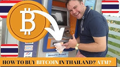 How To Buy Bitcoin in Thailand - Thailand Bitcoin Via ATM - Buy Crypto - Buy Cryptocurrency