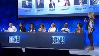 Blizzcon 2017 Overwatch Voice Actors