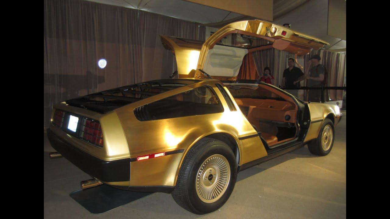 Cars At The Capital Gold Delorean Amp Tucker Prototype