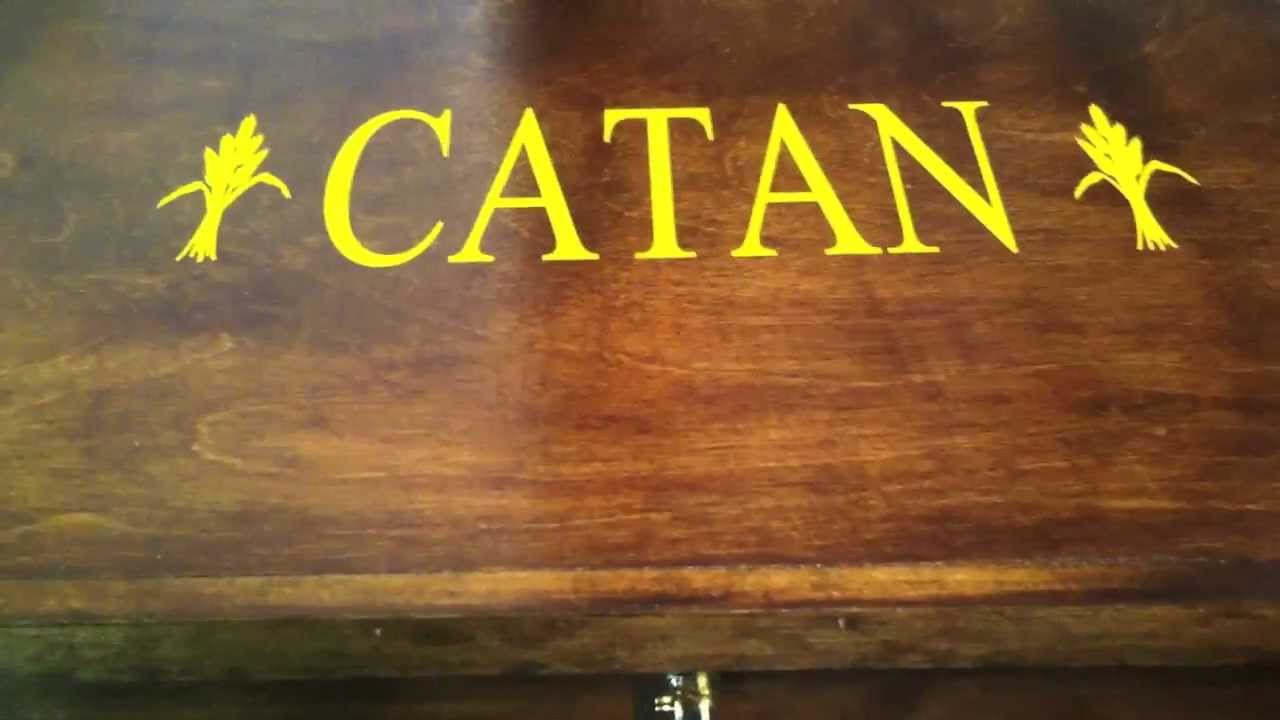 Settlers Of Catan Custom Box Review