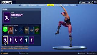 FORTNITE DANCE THERAPY EMOTE (1 HOUR)