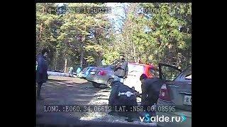 Погоня и задержание пьяного водителя. Верхняя Салда 14.04.2018